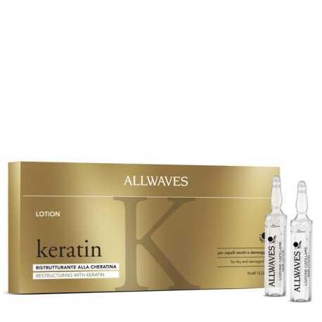 Fiole Restructurante Allwaves cu Keratina 12x10ml | Be Belle Cosmetics