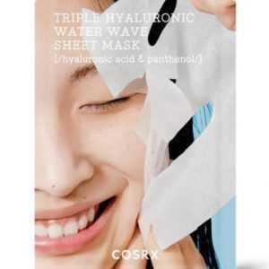 Masca faciala hidratanta cu trei tipuri de acid hialuronic | COSRX