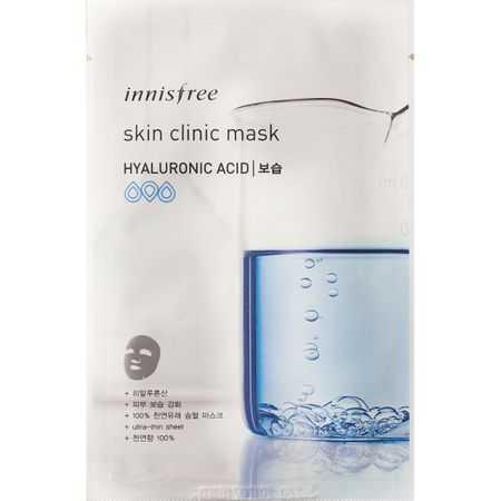Masca faciala cu acid hialuronic   Innisfree