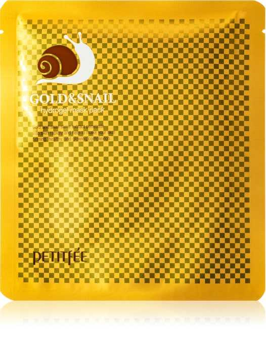 Masca faciala Gold & Snail Hydrogel Mask | Petitfee