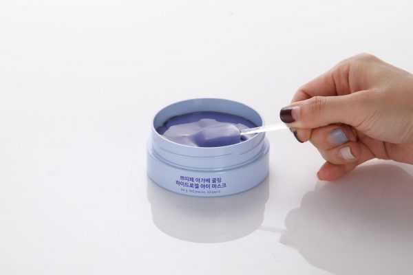 Plasturi din hidrogel pentru ochi cu extract de Agave | Petitfee, 60buc