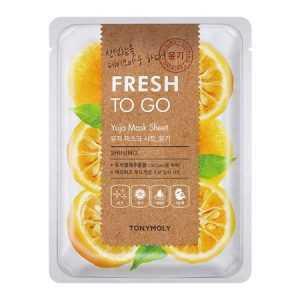 Masca faciala cu Vitamina C Fresh To Go Yuja | Tonymoly