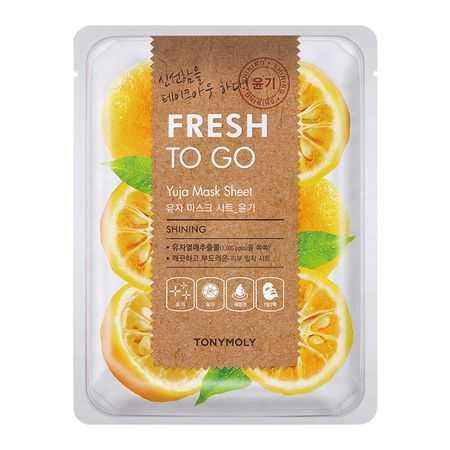 Masca faciala cu Vitamina C Fresh To Go Yuja   Tonymoly