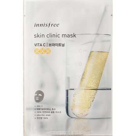 Masca faciala pentru pete pigmentare cu vitamina C | Innisfree