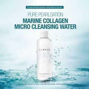 Apa de curatare Pure Pearlsation Marine Collagen Micro Cleansing Water   Klavuu