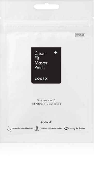 Plasturi pentru cosuri 18buc x 10mm diametru | COSRX