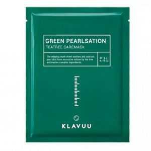 Masca faciala Green Pearlsation Teatree Care | Klavuu