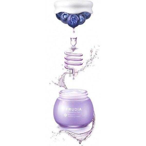 Crema hidratanta cu extract de afine, Blueberry Hydrating Cream | Frudia