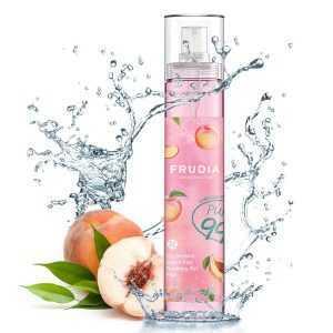 Gel mist hidratant de fata si corp cu extract de piersici, My Orchard Peach Real Soothing Gel Mist | Frudia