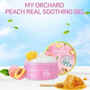 Gel calmant de corp cu extract de piersici, My Orchard Peach Real Soothing Gel | Frudia