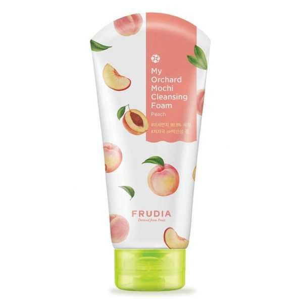 Spuma de curatare fata cu extract de piersici, My Orchard Peach Low Ph Cleansing Foam Low Ph   Frudia