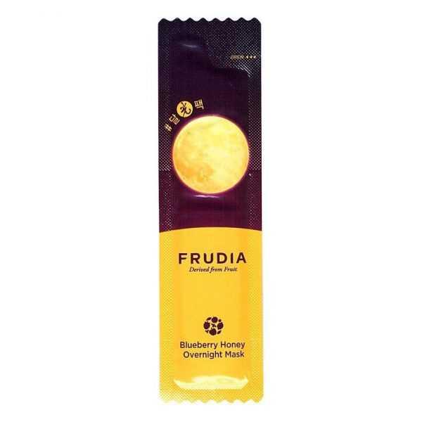 Masca de fata hidratanta pentru noapte cu extract de afine si miere de albina, Bluberry Honey Overnight Mask   Frudia